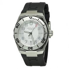 Hamilton Men's H39515733 Valiant Black | 100% original, import SUA, 10 zile lucratoare a32207 - Ceas barbatesc Hamilton, Mecanic-Automatic