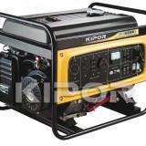 KIPOR generator Open Frame KGE 6500 E, benzină, 5.5 kW