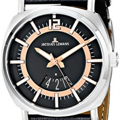 Jacques Lemans Men's 1-1740C Lugano | 100% original, import SUA, 10 zile lucratoare a22207 - Ceas barbatesc Jacques Lemans, Quartz