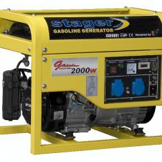 Generator curent - STAGER generator GG 2900, open frame, benzină, 2.4 kW