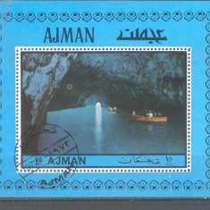 Ajman Pictura Giotto colita stampilata 1972 - Timbre straine, Arta