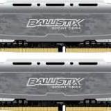 Memorie Crucial Memorie Crucial Ballistix Sport 16GB DDR4, 2400MHz, CL16, BLS2C8G4D240FSB