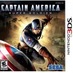 Jocuri Nintendo 3DS - Joc consola Sega Captain America: Super Soldier pentru Nintendo 3DS