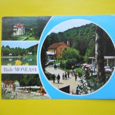 HOPCT 11920 BAILE MONEASA - - JUDETUL ARAD [ CIRCULATA ] - Carti Postale Romania dupa 1918, Printata