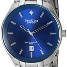 Armitron Men's 20 4999BLSV Diamond-Accented   100% original, import SUA, 10 zile lucratoare a42707 - Ceas barbatesc Armitron, Quartz