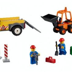 LEGO® Juniors Camion pentru reparatii rutiere - 10683 - LEGO Minifigurine