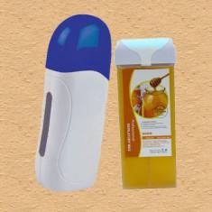 Kit epilare ceara incalzitor cosmetica natural