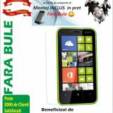 Folie de protectie, Nokia Lumia 620, Lucioasa - Folie protectie Nokia Lumia 620 transparenta Montaj iNCLUS in Pret