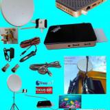 Antena Satelit - Antena tv tir sau camping/rulota cu trepied