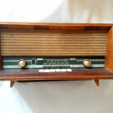 Aparat Radio Vechi Vintage CARMEN 3 S632A3 ELECTRONICA PE LAMPI 1967 FUNCTIONAL