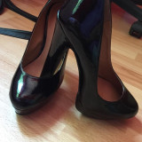 Vand pantofi - Pantof dama, Marime: 36, Culoare: Negru