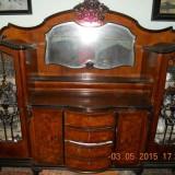 Ieftin mobila sufragerie de Arad LEMN MASIV ( lemn de nuc ) Chipendale anii 1900 - Mobilier, Sufragerii si mobilier salon, Chippendale, 1900 - 1949