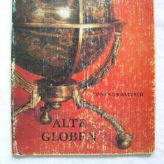 Globuri pamantesti vechi - cartea prezinta 27 piese in color (glob pamantesc)