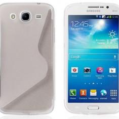 Husa Samsung Galaxy Ace 4 G357F TPU S-LINE Transparenta, Gel TPU, Carcasa, Fara snur