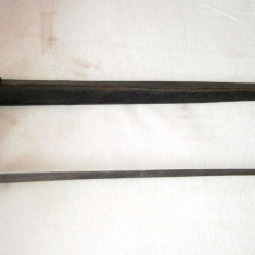 Baioneta datata 1858