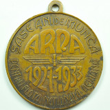 Ticuzz - Medalie ARPA 1927 - 1933 6 ani de munca pentru Flota Nationala Aeriana - Medalii Romania
