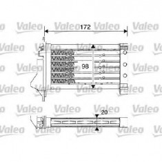 Incalzitor stationar auto - Heater - Incalzitor independent autovehicul NISSAN MICRA III K12 PRODUCATOR VALEO 812249