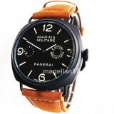 Officine Panerai Marina Militare Mechanical Watch ! Cea Mai Buna Calitate ! - Ceas barbatesc, Lux - elegant, Mecanic-Manual, Inox, Piele, Analog