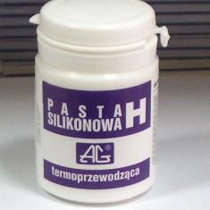 Pasta termoconductoare - Pasta procesor siliconica termoconductoare H 100g CHE1411 Polonia