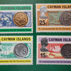 Timbre straine - Bancnote monede numismatica - serie nestampilata MNH - Cayman Isl 1972