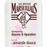 Sampon Par Normal si Varfuri Fragile cu Lapte de Migdale Dulci si Seminte de In 250 ml Le Petit Marseillais