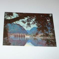 Caciulata, barajul de pe Olt - 1990 - circulata - 2+1 gratis - RBK8774 - Carte Postala Transilvania dupa 1918, Circulata, Fotografie
