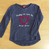 Bluza fete 6 ani, Culoare: Bleumarin