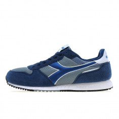 Adidasi originali sport DIADORA - adidasi barbati - alergare - piele - 41, 42, Culoare: Albastru, Piele naturala