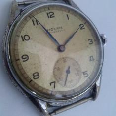 Ceas de mana - Ceas militar mecanic Moeris Antimagnetic, 33mm, 13 ''', fabricat in Elvetia