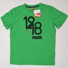 Tricou Puma pentru copii, Marime: L, Culoare: Verde