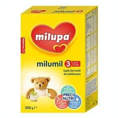 Milumil 3 Lapte de Continuare 9+ Luni 300gr Cod: 4008976515944