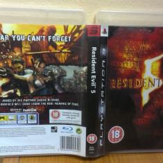 Resident Evil 5 (PS3) (ALVio) + sute de alte Jocuri PS3 Capcom originale ( VAND / SCHIMB ), Actiune, 18+