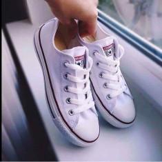 Tenesi Converse All Star- Alb - Tenisi dama Converse, Textil