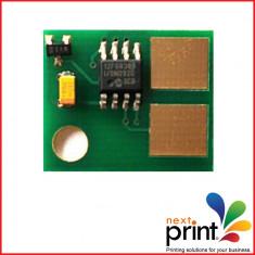 CHIP CARTUS TONER compatibil LEXMARK MS310, MS410, MS510, MS610, capacitate 5.000 pagini. - Chip imprimanta