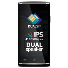 Telefon Allview, Negru, 4GB, Neblocat, Dual SIM, Dual core - Allview E2 Living