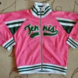 Bluza trening roz, marca Campagnolo, fete 5-6 ani