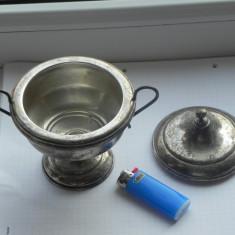 VAND SCHIMB Bomboniera superba din argint masiv marcat, Zaharnita
