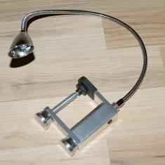 Iluminat decorativ - LAMPA BIROU CU 6 LED FLEXIBIL MODEL WTE-3112