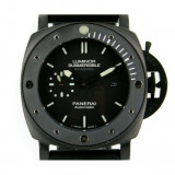 Ceas barbatesc Panerai, Casual, Cauciuc - Ceas de mana PANERAI LUMINOR SUBMERSIBLE AMAGNETIC BLACK STEEL
