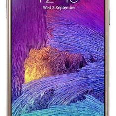 Telefon mobil Samsung Galaxy Note 4, Auriu, Neblocat - Samsung Note 4 Gold ITMEDIAGALAXY Factura Garantie 2ani Livrare cu Verificare