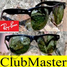 Ochelari de soare Ray Ban, Unisex, Negru, Wayfarer, Plastic, Fara protectie - Ochelari Ray Ban Clubmaster Wayfarer