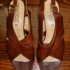 Pantof dama Made in Italia piele Pradelle by Fraven marimea 38 - Super Pret, Culoare: Din imagine, Piele naturala