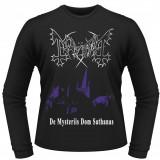 Bluza barbati - Tricou cu Maneca Lunga Mayhem - De Mysteriis Dom Sathanas