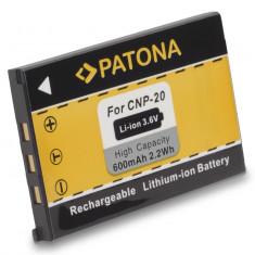 Baterie Aparat foto - 1 PATONA | Acumulator pt. CASIO EXILIM NP-20 NP20 Li-Ion NP 20 baterie | 600mAh