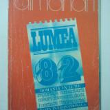 ALMANAH - LUMEA 1982 ( 1456 )