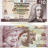 SCOTIA 10 pounds 2012 UNC!!!, Europa