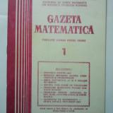 GAZETA DE MATEMATICA - LOT ANUL 1982 NUMERELELE 1 + 2 - 3 + 4 - Culegere Matematica