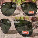 Ochelari RAY BAN de soare - Ochelari de soare Ray Ban, Unisex, Negru, Pilot, Plastic