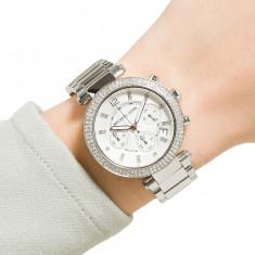 Ceas de dama Michael Kors Silver Chronograph Ladies Watch MK5353 - Ceas dama Michael Kors, Casual, Quartz, Inox, Cronograf