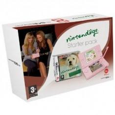 Consola Nintendo DS Lite Pink + joc Nintendogs Labrador